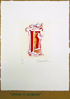 Outer Signs of Inner Grace, Suite of 6 Etchings Limited Edition Print by John Chamberlain