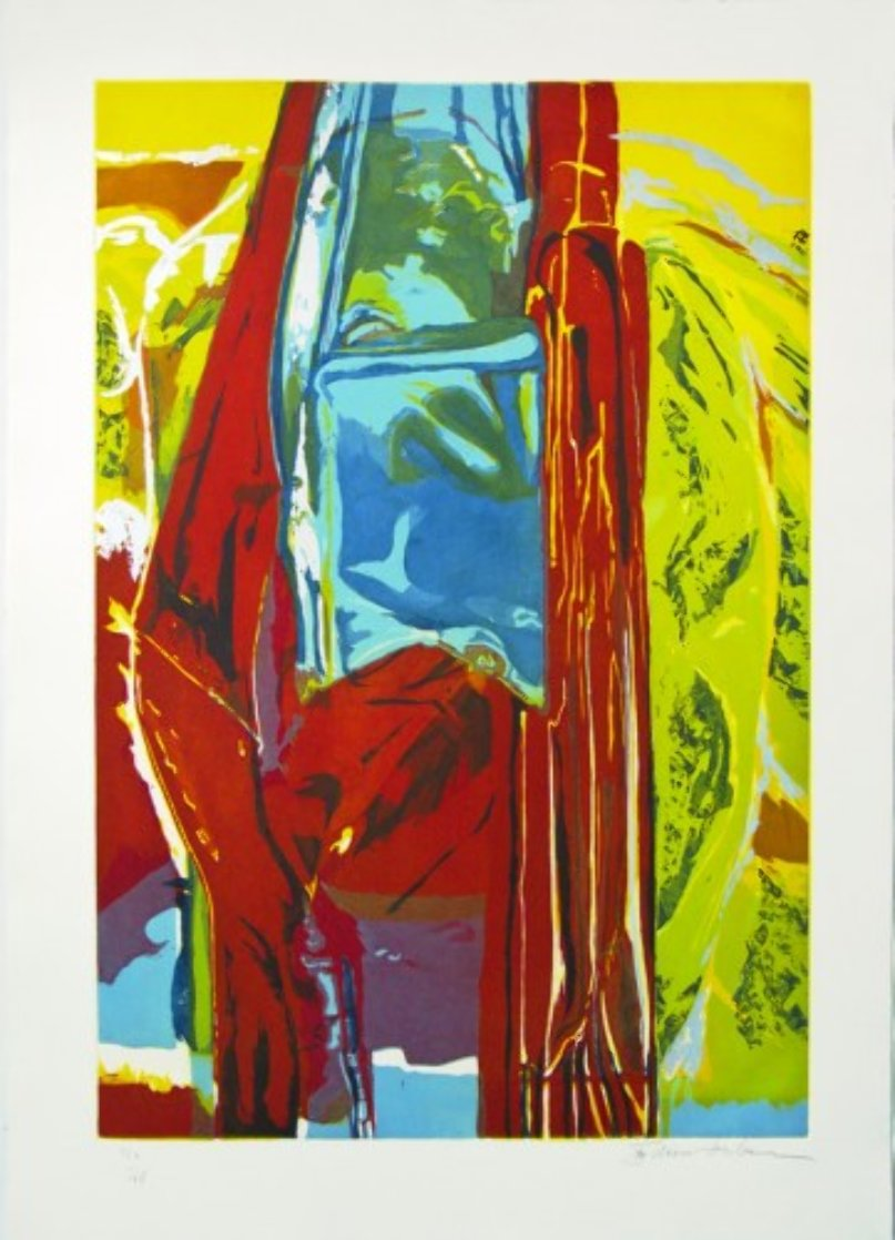 3 Daughters, More Rain 1987 Super Huge Limited Edition Print by John Chamberlain