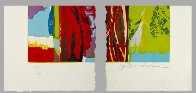 3 Daughters, More Rain 1987 Super Huge Limited Edition Print by John Chamberlain - 2