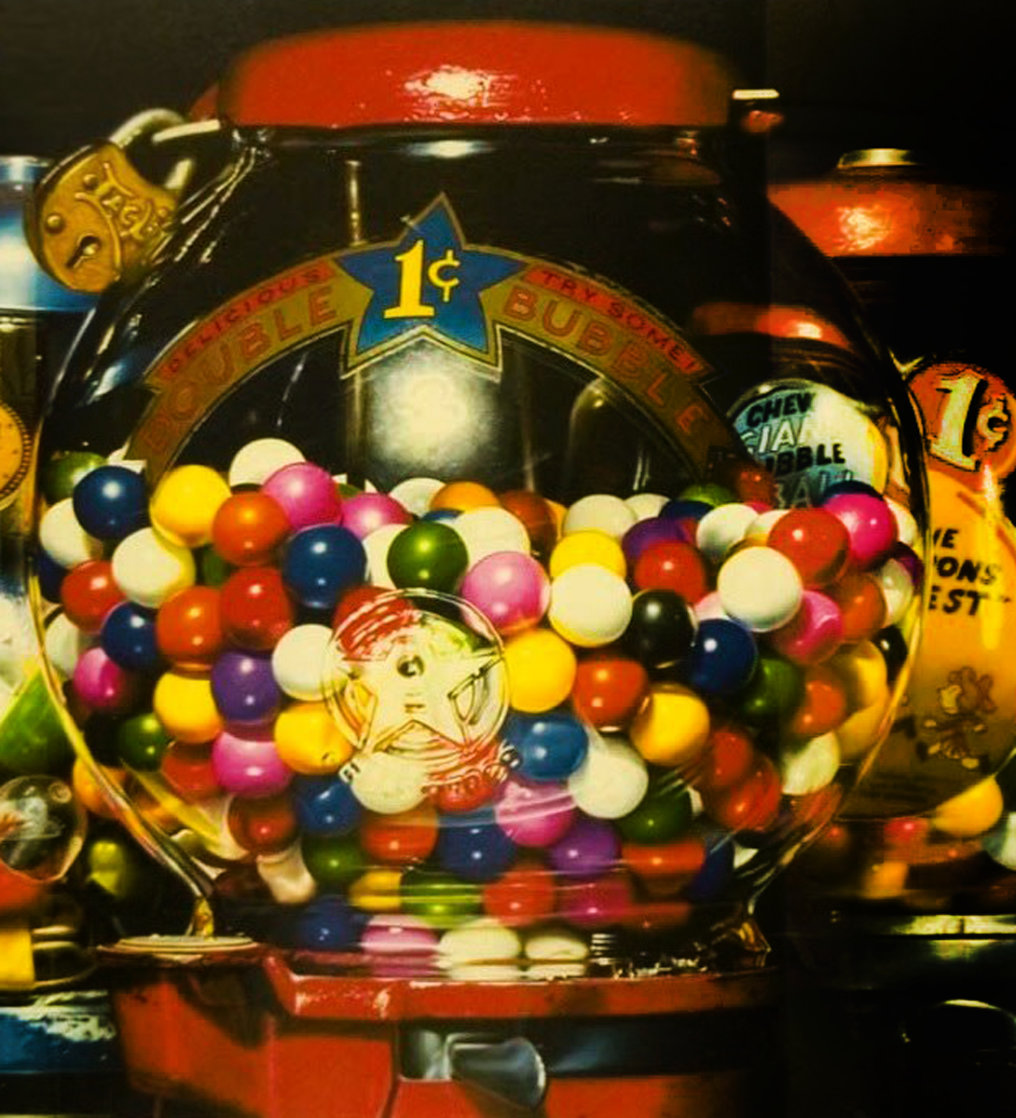 Double Bubble 1990 Limited Edition Print by Charles Bell