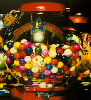 Double Bubble 1990 Limited Edition Print - Charles Bell