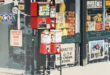 Little Italy 1981 Limited Edition Print by Charles Bell