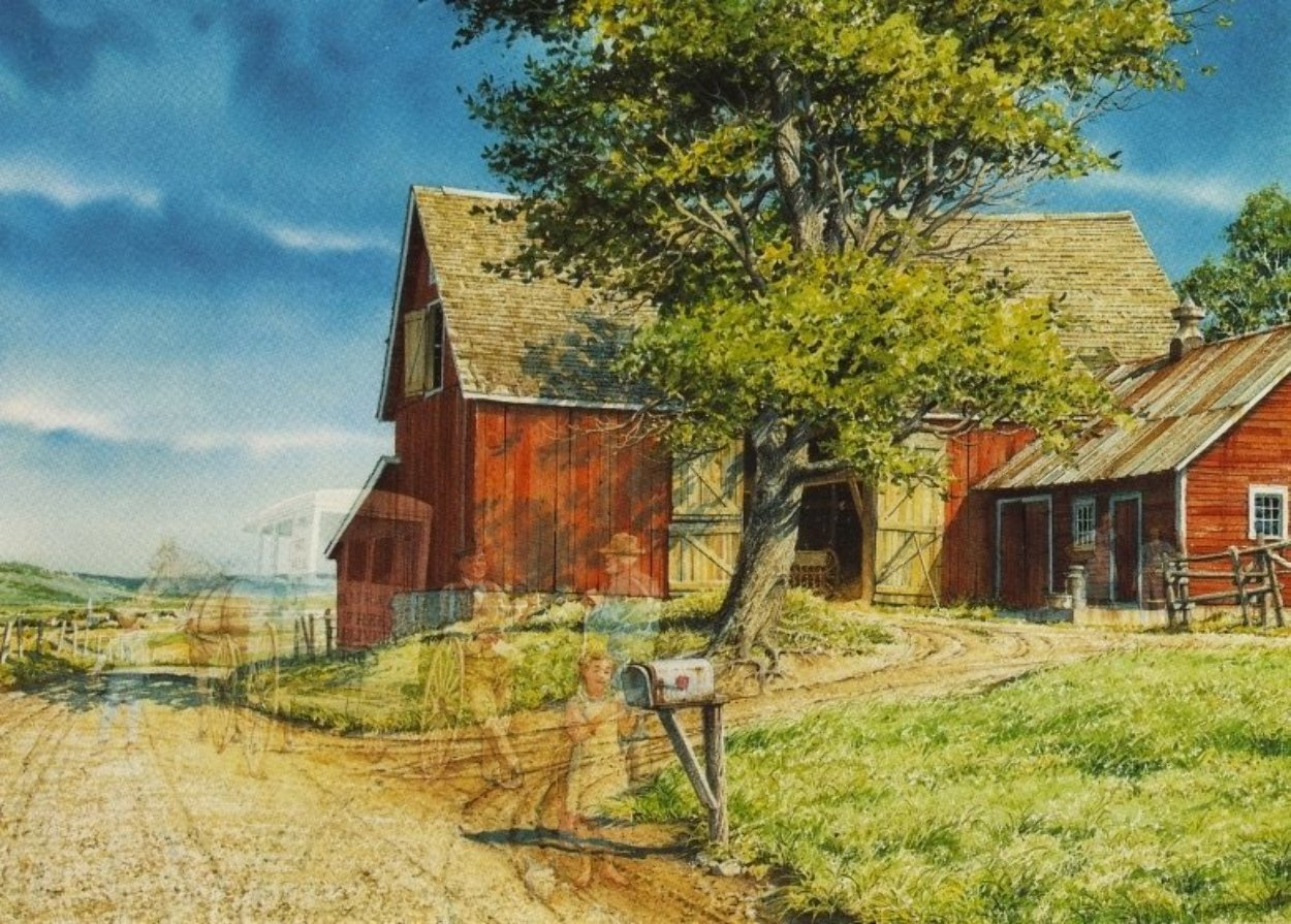 Rfd 1994 Limited Edition Print by Charles Peterson