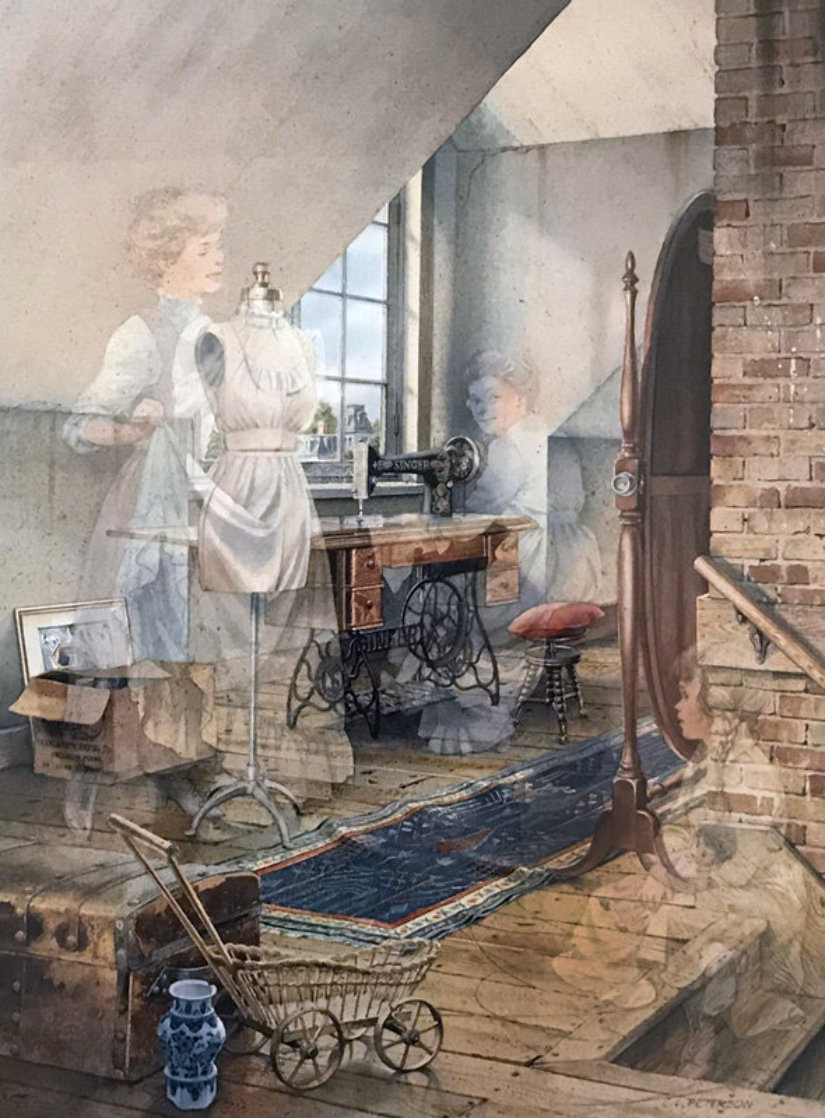 A Stitch in Time 1997 Limited Edition Print by Charles Peterson