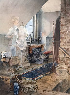 A Stitch in Time 1997 Limited Edition Print by Charles Peterson - 0