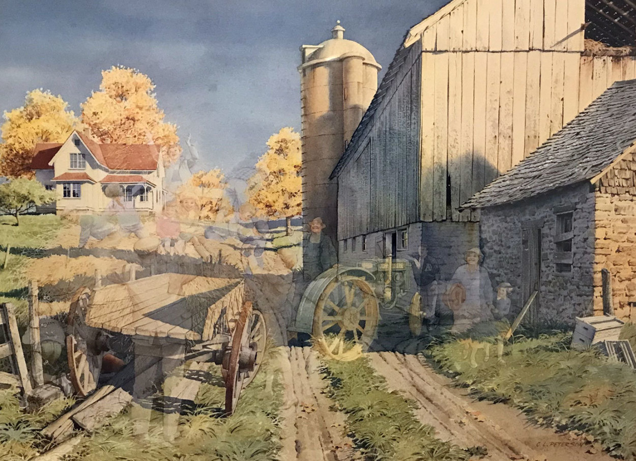 Hayride 1995 Limited Edition Print by Charles Peterson