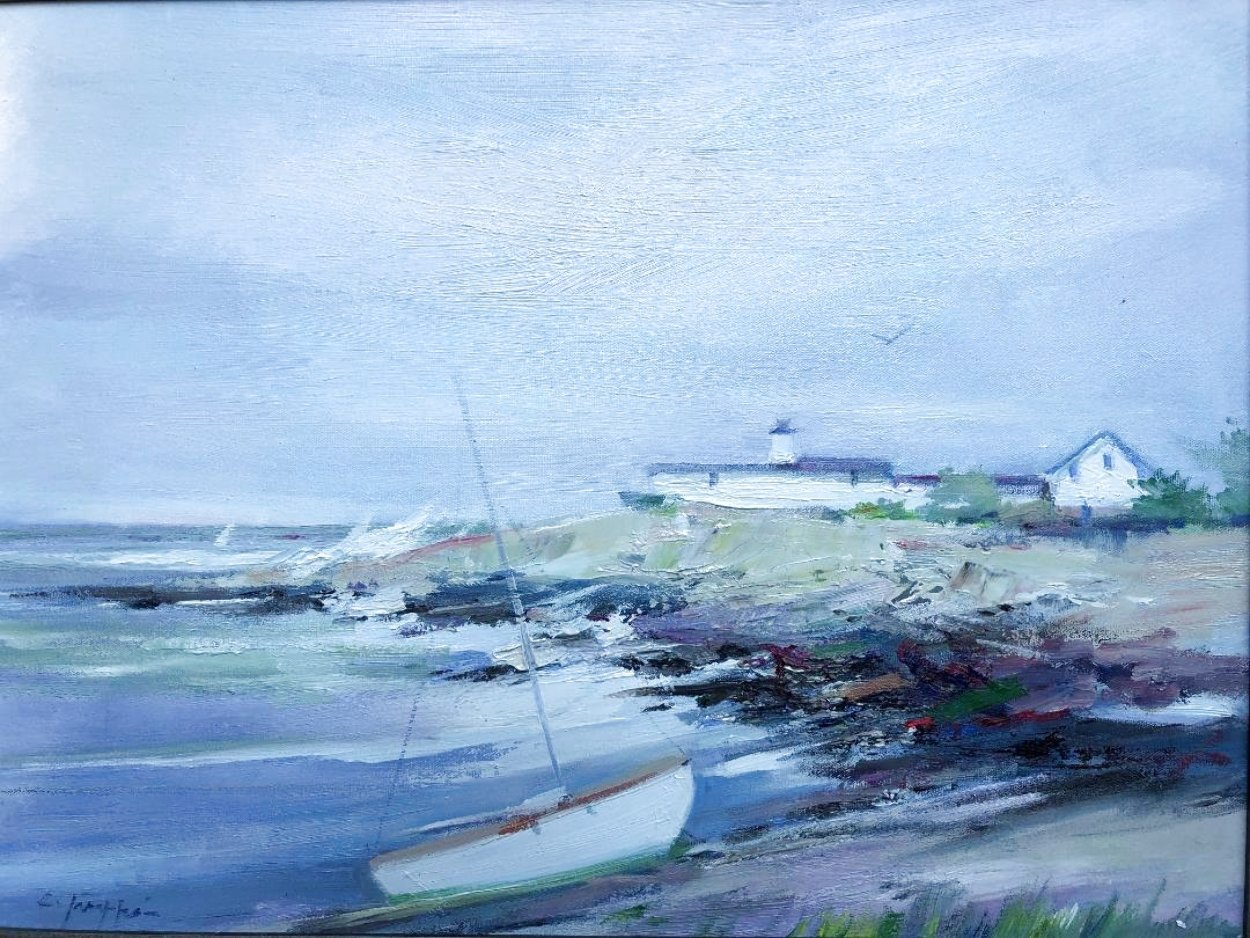 Eastern Point 26x30 Original Painting by Charles Gruppe