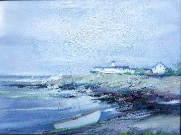 Eastern Point 26x30 Original Painting - Charles Gruppe