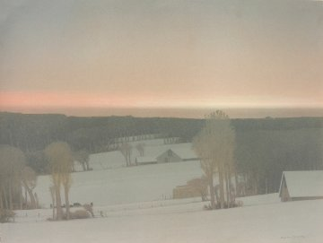Winter Light 1994 Limited Edition Print - Russell Chatham