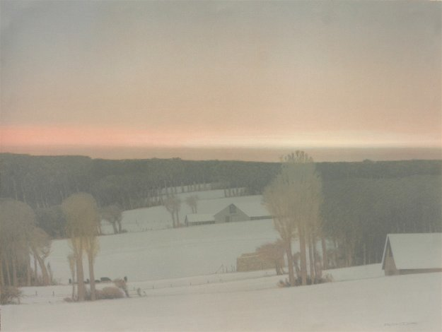 Winter Light 1994 Limited Edition Print by Russell Chatham