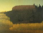 Fall Near Deadman's Gulch 2001 Limited Edition Print - Russell Chatham