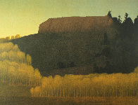 Fall Near Deadman's Gulch 2001 Limited Edition Print by Russell Chatham - 0
