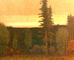 Nightfall in September AP 1991 Limited Edition Print - Russell Chatham