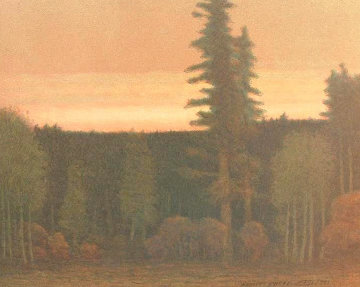 Nightfall in September AP 1991 Limited Edition Print by Russell Chatham