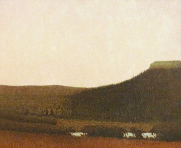 Larkspur Butte in Spring 2006 Limited Edition Print by Russell Chatham