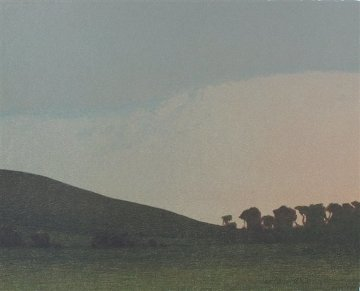 Late November Afternoon 2005 Limited Edition Print by Russell Chatham