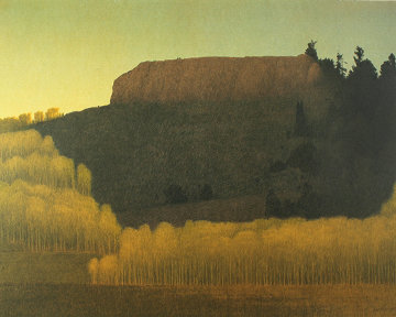 Fall Near Deadman's Gulch 2001 Limited Edition Print by Russell Chatham