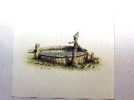 Untitled (Old Rustic Well) 2001 Limited Edition Print by Russell Chatham - 1