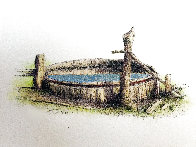 Untitled (Old Rustic Well) 2001 Limited Edition Print by Russell Chatham - 0