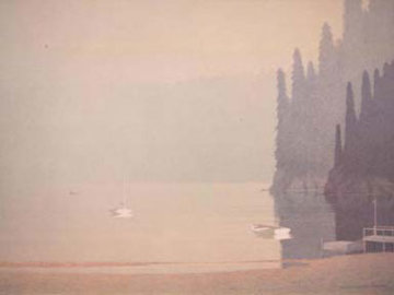 Spring Morning 1988 Limited Edition Print - Russell Chatham