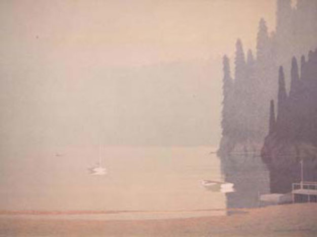 Spring Morning 1988 Limited Edition Print by Russell Chatham