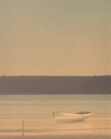 Late Afternoon 1989 Limited Edition Print by Russell Chatham