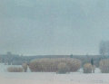 Willows in the Snow 1990 Limited Edition Print - Russell Chatham