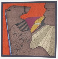 Kiss of Dove 1978 Limited Edition Print by Mihail Chemiakin - 2