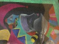 Nijinski XVI 75x54 Super Huge Original Painting by Mihail Chemiakin - 18
