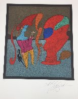 Le Buste Rouge Limited Edition Print by Mihail Chemiakin - 1
