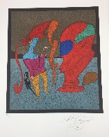 Le Buste Rouge Limited Edition Print by Mihail Chemiakin - 2