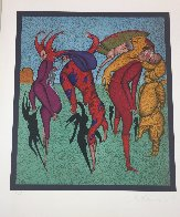 Harlequins 2002 Limited Edition Print by Mihail Chemiakin - 1
