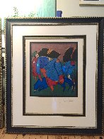 Untitled Lithograph 1990 Limited Edition Print by Mihail Chemiakin - 1