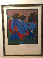 Untitled Lithograph 1990 Limited Edition Print by Mihail Chemiakin - 2