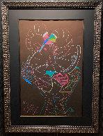 Dancing Fawn II 1983 52x39 Super Huge Original Painting by Mihail Chemiakin - 4
