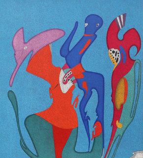 Metaphysical Head 1980 Limited Edition Print - Mihail Chemiakin