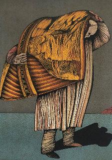 Le Ventre De Paris 1976 Limited Edition Print - Mihail Chemiakin