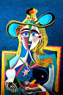 Tribute to Picasso Limited Edition Print - Mihail Chemiakin