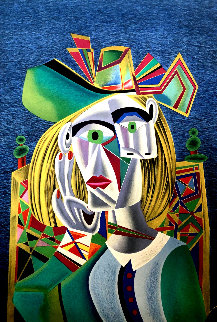 Tribute to Picasso Limited Edition Print by Mihail Chemiakin