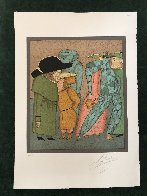 Carneval in St. Petersburg Limited Edition Print by Mihail Chemiakin - 1