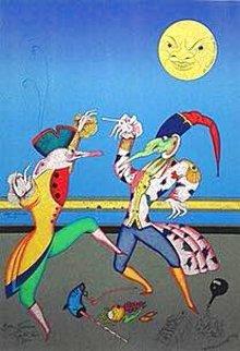 La Danse D'ete Limited Edition Print - Mihail Chemiakin