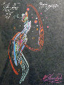 Magician Drawing Pastel 1981 10x8 Drawing - Mihail Chemiakin