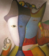 Jeu De Mains 1994 50x48 Limited Edition Print by Mihail Chemiakin - 1
