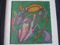 Metaphysical Flowers Image III 1989 Limited Edition Print by Mihail Chemiakin - 1