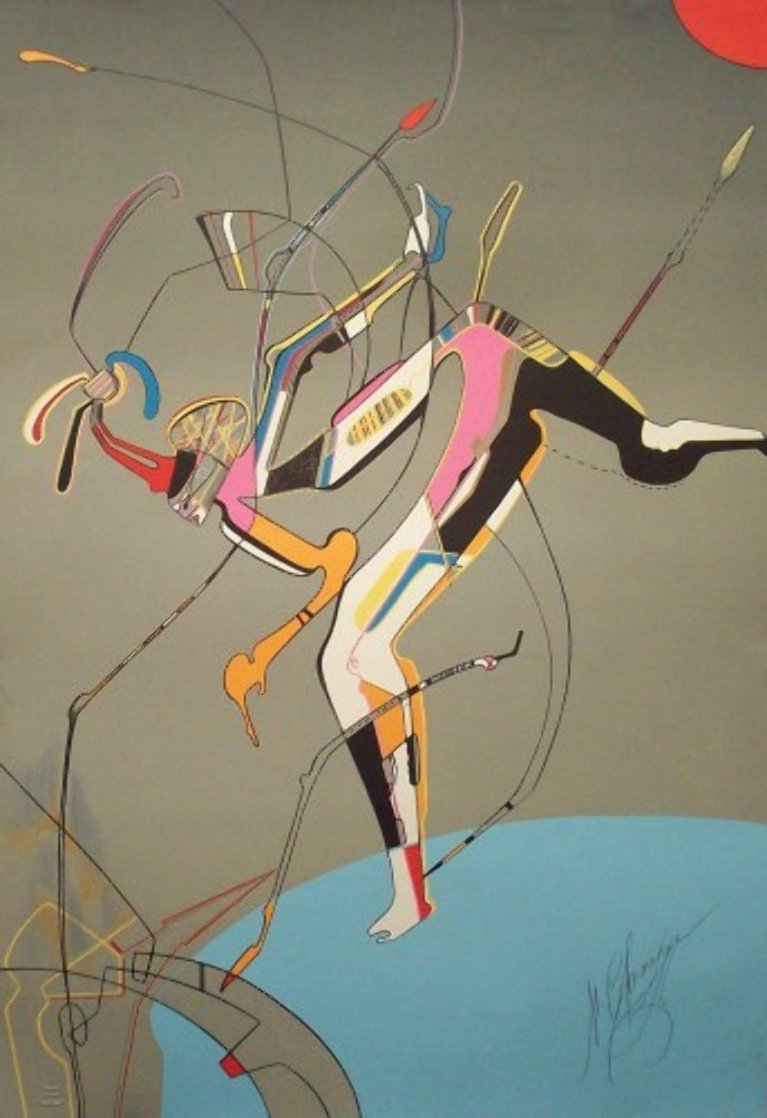 Runner PP 1988 Limited Edition Print by Mihail Chemiakin