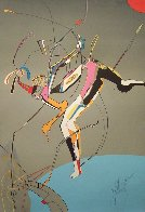 Runner PP 1988 Limited Edition Print by Mihail Chemiakin - 2