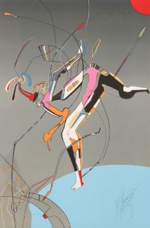Runner 1988 Limited Edition Print by Mihail Chemiakin