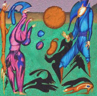 Shadows 1996 Limited Edition Print by Mihail Chemiakin