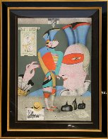 Cirque Russe I Limited Edition Print by Mihail Chemiakin - 1