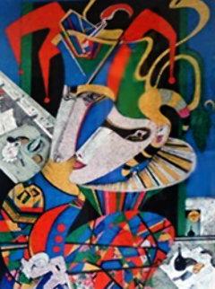 La Poesie De La Danse, Suite of 2  1987 Limited Edition Print - Mihail Chemiakin